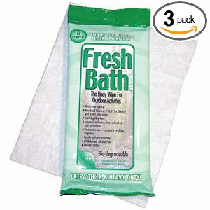Fresh Bath Body Wipes