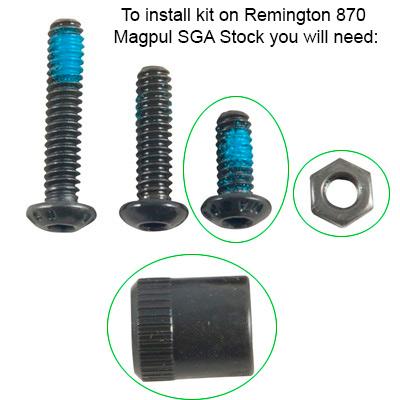 Magpul Stock for Remington 870: Sling Mount Kit-Type 1