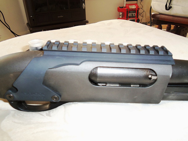 Mesa Tactical Side Saddle with Picatinny Rail