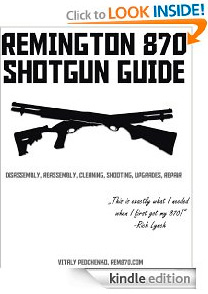 Remington 870 Guide, Kindle Edition, Just $4.99