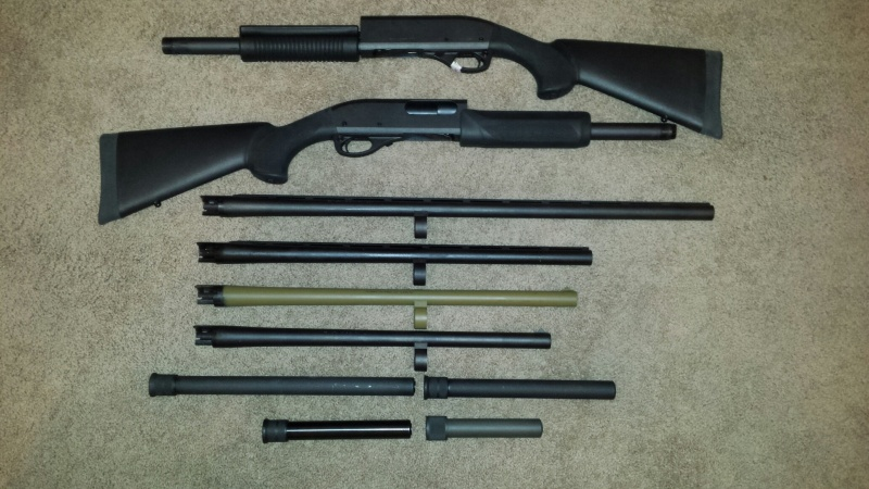 Remington 870 Barrels