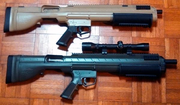 Bullpup Remington 870
