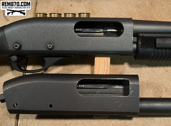 Remington 870 Ejection Window Modification