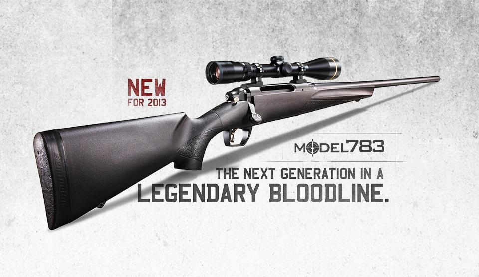 Remington 783 – New Rifle From Remington!