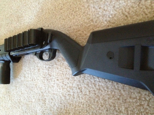 Remington 870 Tacstar Sidesaddle Magpul SGA Stock