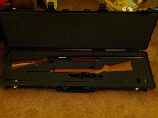 Pelican Case Customization for Remington 870