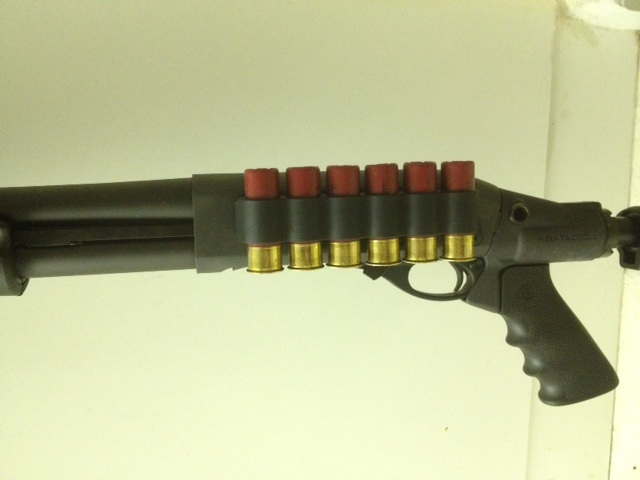 Remington 870 with Mesa Tactical Stock and Sidesaddle