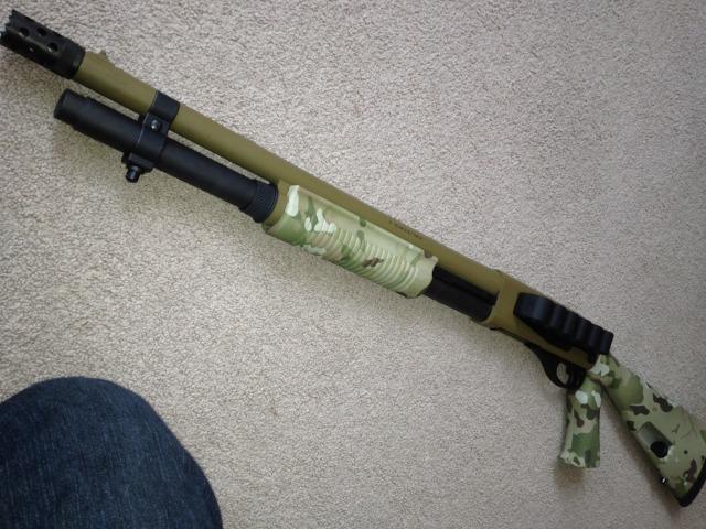 Remington 870 in Multicam