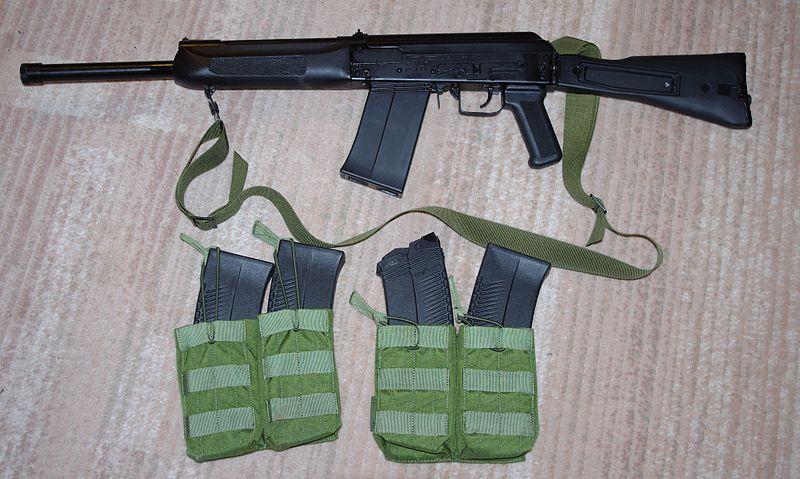 Semi-Automatic Shotgun with Detachable Magazine