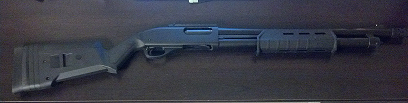 Remington 870 with Magpul Furniture and Brownells Follower