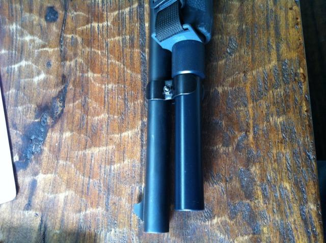 Remington 870 TacStar +2 Magazine Extension