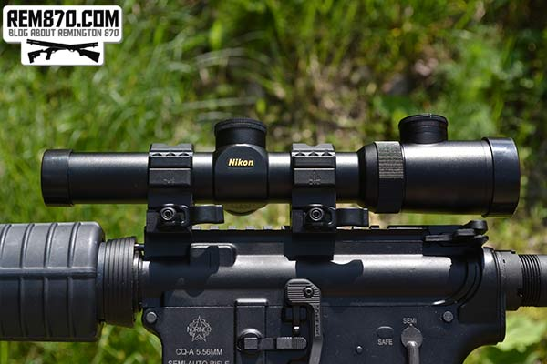 Nikon 1.1-4×24 Monarch African Riflescope for AR-15