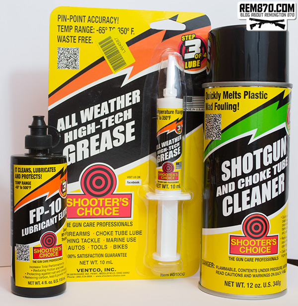 Shooters Choice For Shotgun Cleaning And Maintenance