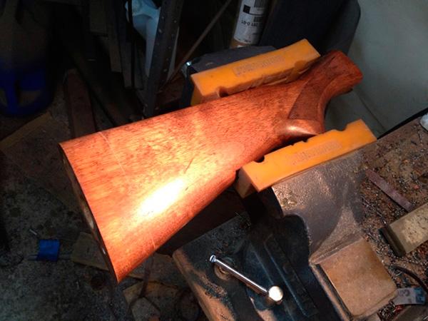 Shortening Remington 870 Stock