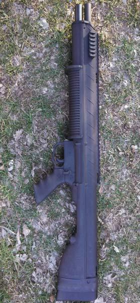 Remington 870 Bull-Pup Conversion