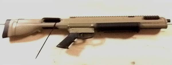 Remington 870 Bullpup Desert Tan