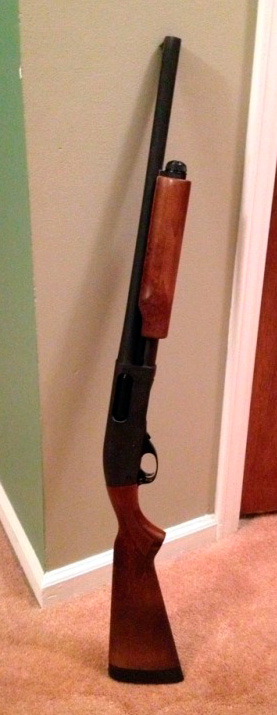 """Remington 870 18.5"""" IC Barrel."""