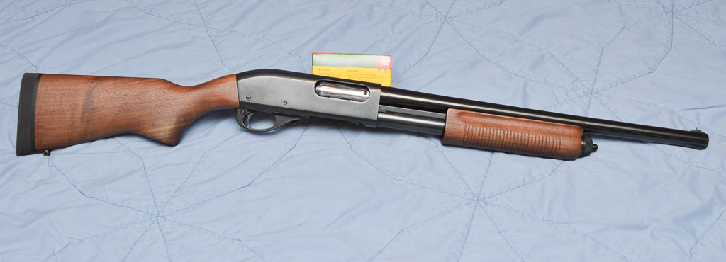 Remington 870 Police with Wood Stock and Forend