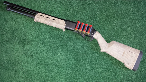 Custom Painted Remington 870 Magpul SGA Stock and Forend