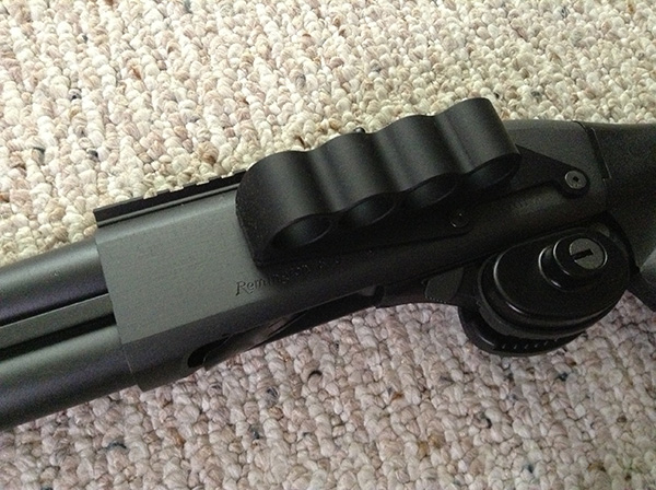 Mesa Tactical SureShell shotshell carrier for the Remington 870