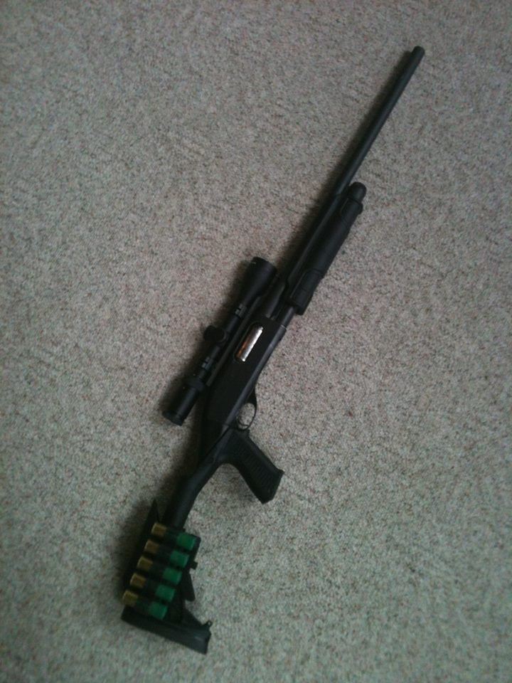 Remington 870 Slug Gun