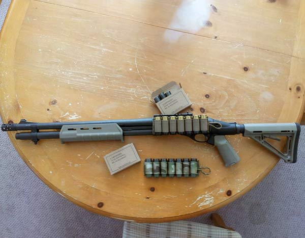 Remington 870 with Mesa Tactical Kit, Magpul Stock and Forend