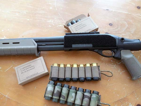 Remington 870 Velcro Detachable Sidesaddle