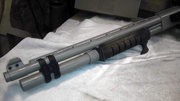 Remington 870 Build: Remington 870 with Mesa Tactical Sidesaddle