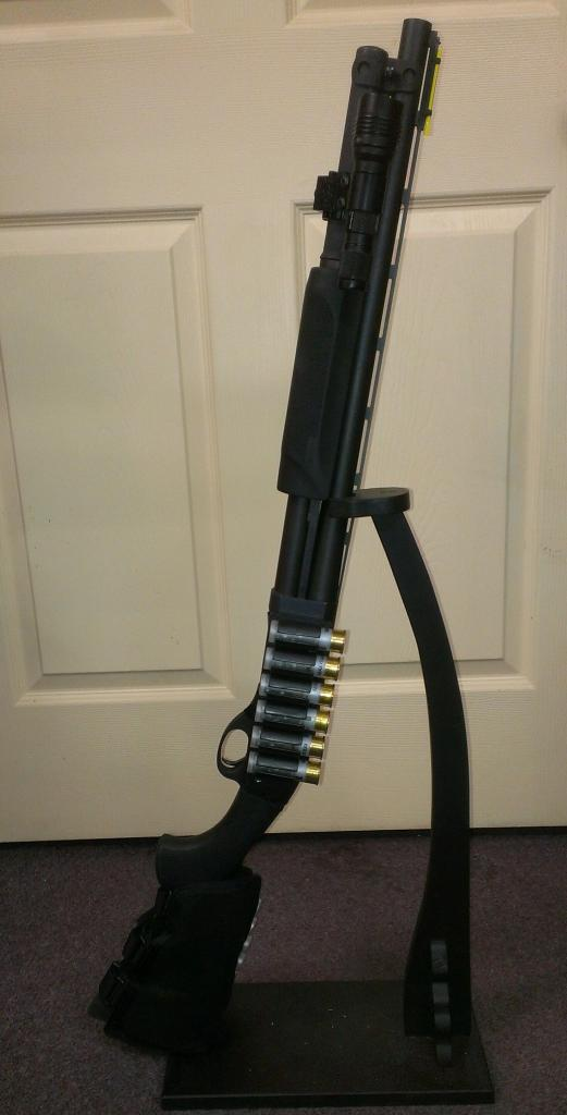 Remington 870 with Upgrades