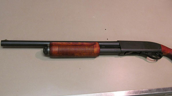 Remington 870 Forend After Restoration