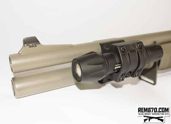 Elzetta Tactical Flashlight Mount for Remington 870
