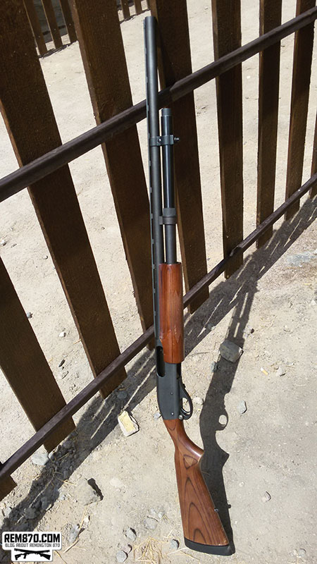 Remington 870 with Long and Short Barrel