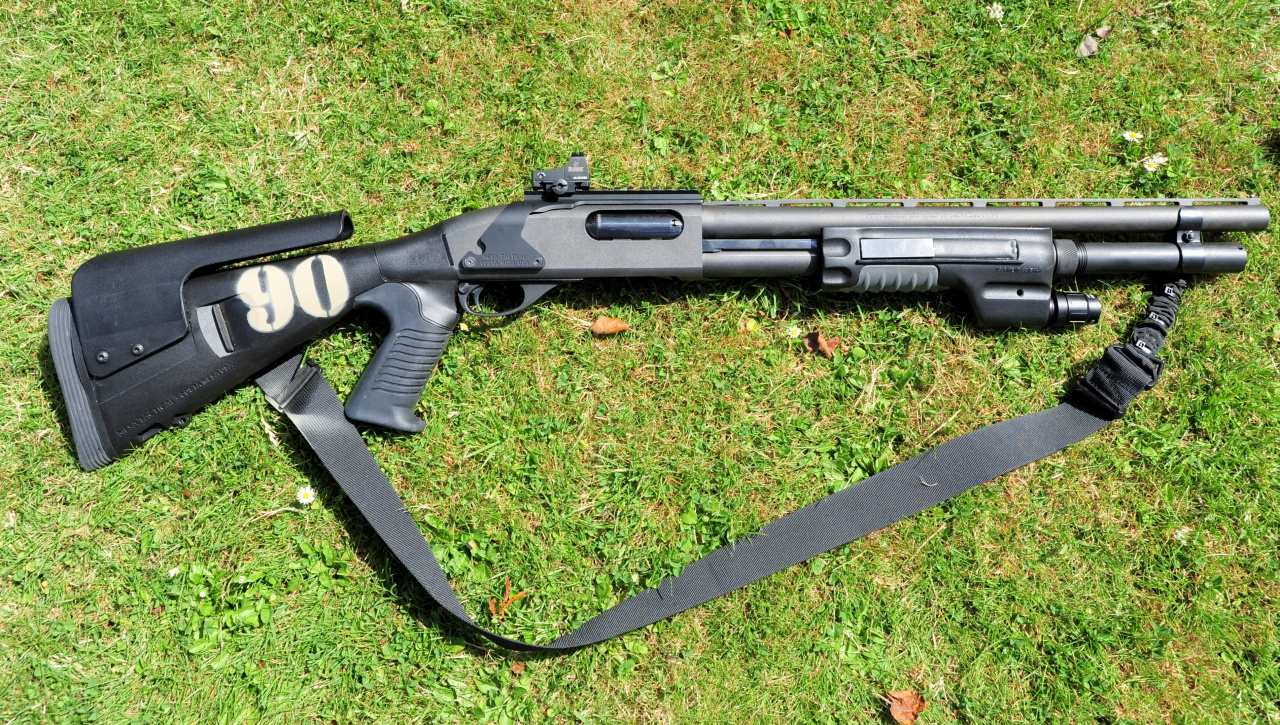 Remington 870 with Surefire Forend and Urbino Stock