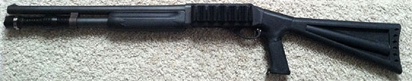 Remington 870 with 3T Tactical Shotgun Tactical Ultra-Illumination Device (S.T.U.D)