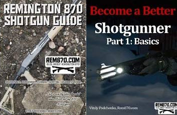 Buy Remington 870 Guide, get Become a Better Shotgunner eBook for FREE