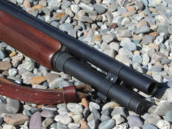 Remington 870 with Magazine Extension