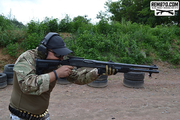 Remington 870 Photos from the Range
