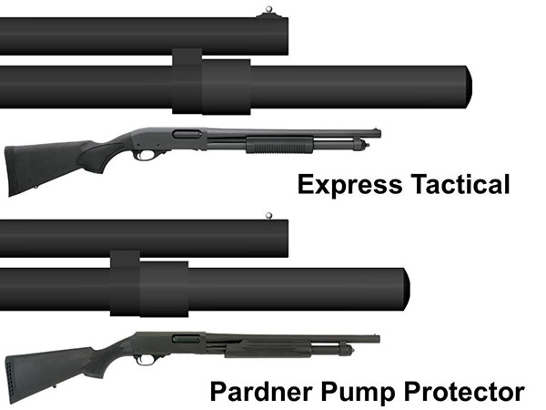 Remington 870 Epress Tactical and H&R Pardner Pump