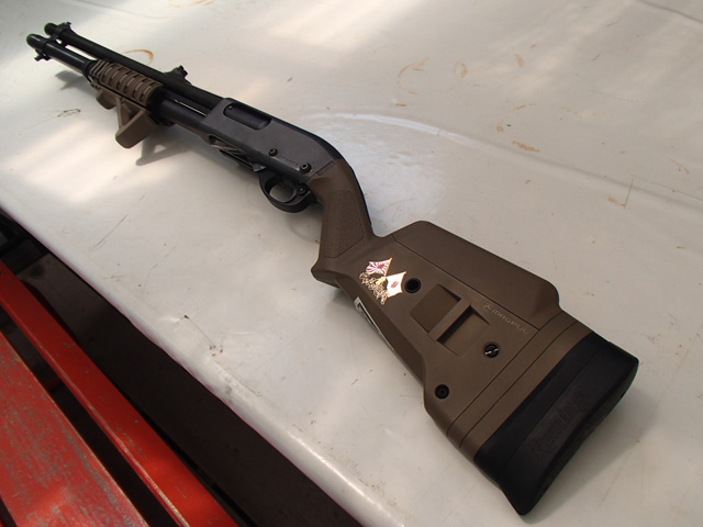 Remington 870 with Magpul Stock and ERGO GRIP 3-Rail Shotgun Forend
