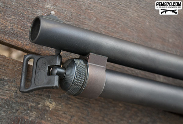 Remington 870, Magpul Stock/Forend, Aimpoint or Mesa Tactical Sidesaddle with Rail