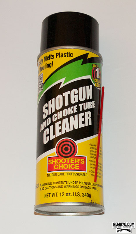 Shooter's Choice Shotgun and Choke Tube Cleaner, Clean Remington 870