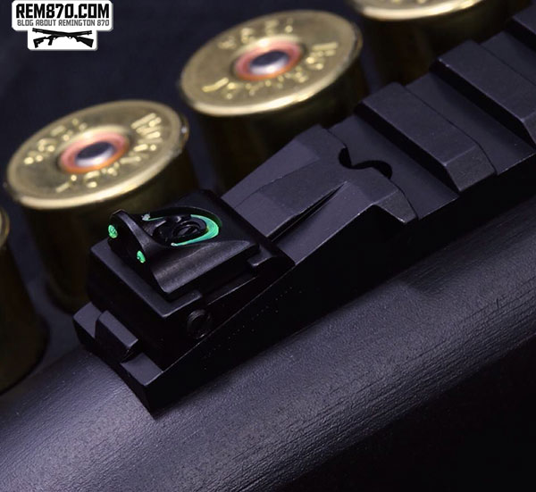 Williams Gun Sight Company: Remington 870 Fiber Optic Sight