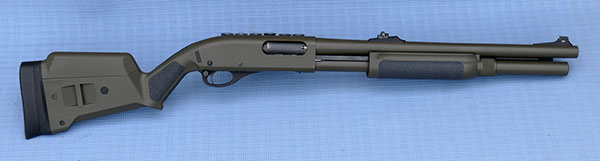 Remington 870 with Magpul Stock