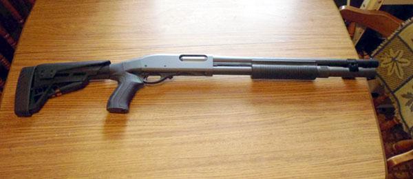 Remington 870 with Pistol Grip Stock