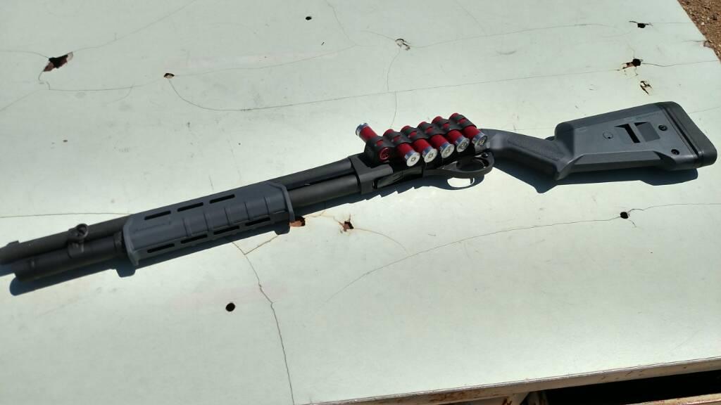 Magpul Remington 870 SGA Stock and Forend Set, Gray