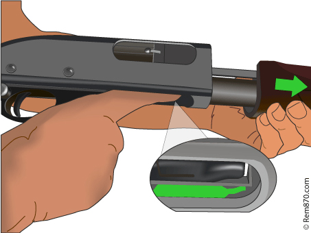 Remington 870 Disassembly and Reassembly with Illustrations and Video