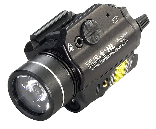 Streamlight TLR-2 HL Rail-Mounted Tactical Light with Red Laser