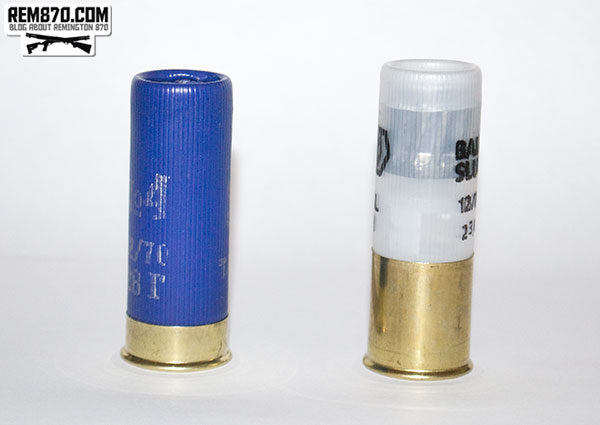 Low brass, high brass shotgun shells