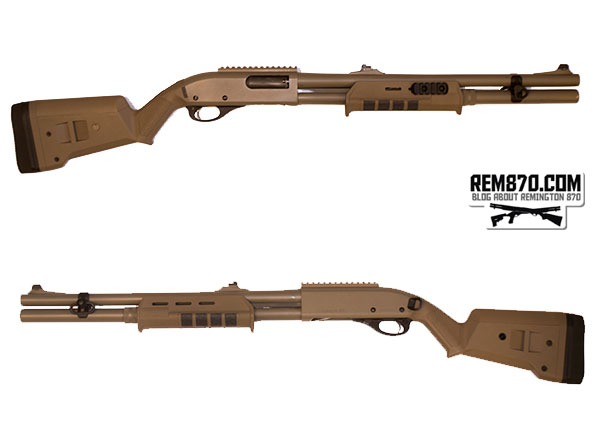 Magpul SGA Stock and MOE Forend for Remington 870
