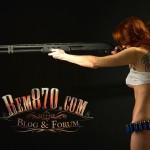 1280x960, Hot Girl with Remington 870 Shotgun Wallpaper